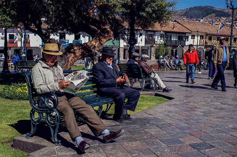 work and travel Peru Cusco