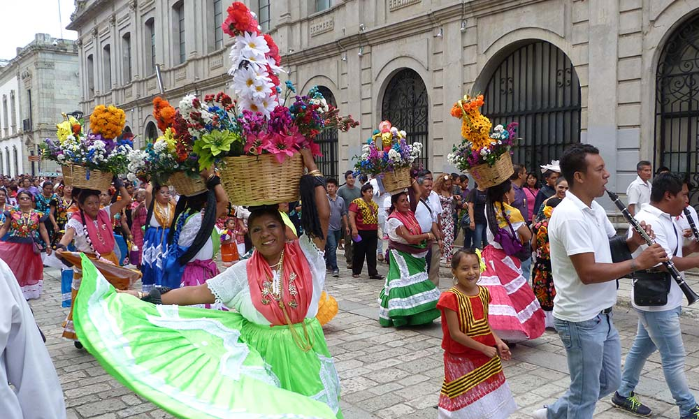 fiesta in Oaxaca Mexiko
