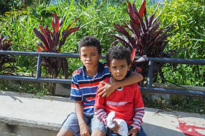 Medellin children