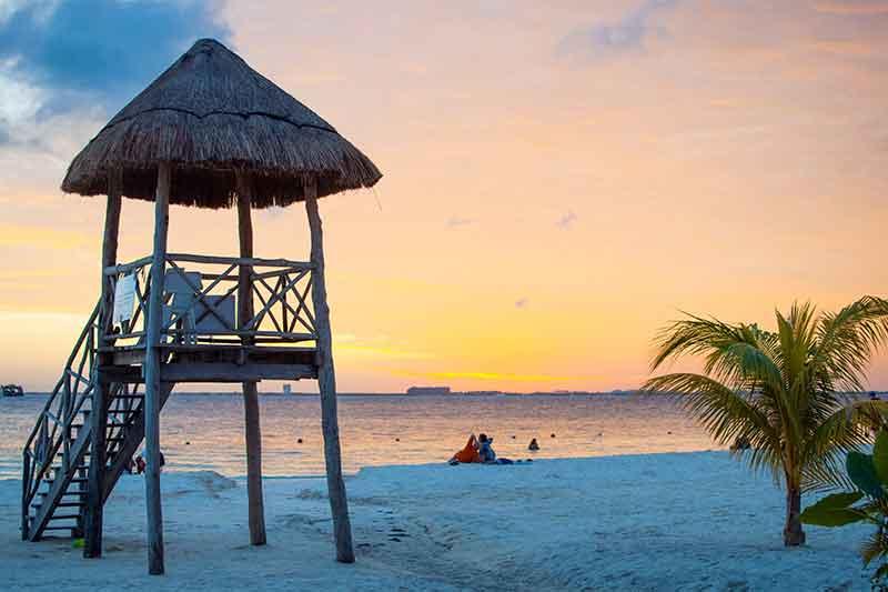 Playa Northe Isla Mujeres Mexico