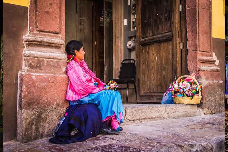 Antigua Guatemala Mayan Woman
