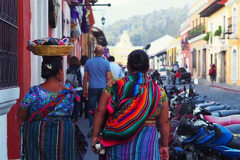 Mayan Woman Antigua Guatemala